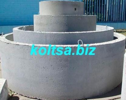 Кольца для канализации, колодцев, водопровода, выгребных ям, дренажные. Чернигов. фото 1