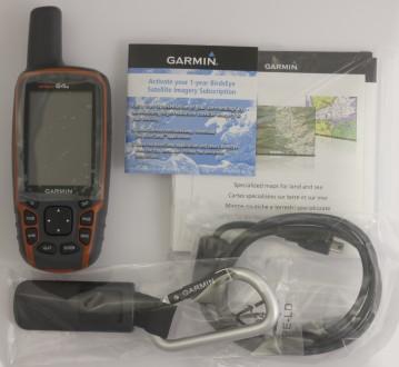 GPS навигатор Garmin GPSMAP 64s (новый). Днепр. фото 1
