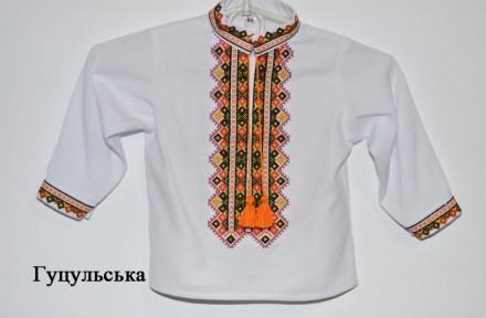 Украинский производитель. Рубашка для мальчика выполнена в традиционном  украинс. Вінниця 079044b7b3efa