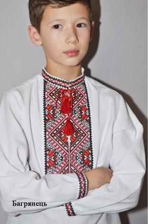 Вишиванка. Вышитая сорочка для мальчика. Стильная вышивка.. Вінниця. фото 1