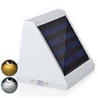 Уличный светильник с солнечной панелью.Водонепроницаемый.. Нежин. фото 1