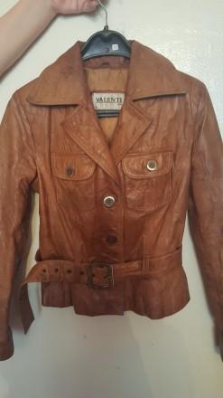 Куртка кожаная. Днепр. фото 1