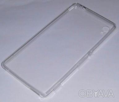 Чехол силиконовый мягкий для Sony M4 Aqua