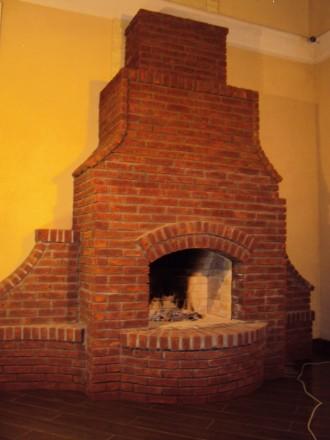 Строительство каминов, печей, барбекю и тд. любой сложности. Киев. фото 1