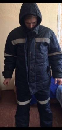 Чоловічий Зимній Комбінізон. Ужгород. фото 1