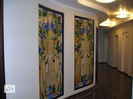 Изготовление витражей и зеркал Тиффани.. Днепр. фото 1