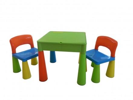 Комплект детской мебели Tega Baby Mamut (стол + 2 стула) (мультицвет(Мulticolor). Киев. фото 1