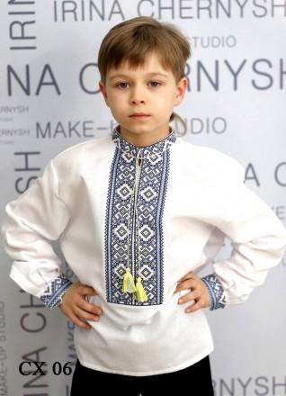 Стильная вышитая украинская сорочка для мальчиков.. Винница. фото 1