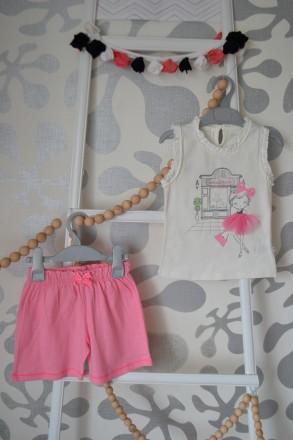 Комплект AZIZ bebe на девочку 12 и 18 месяцев. Орехов. фото 1