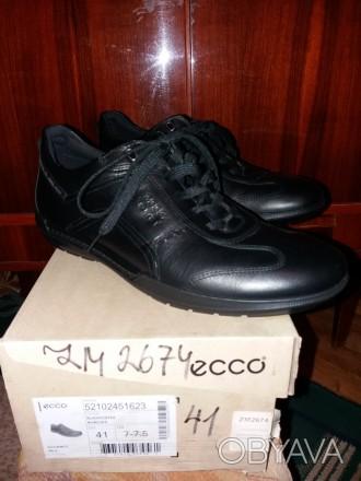 Продам новые туфли ЕССО, полномерные 41 размер.Возможна примерка.. Днепр, Днепропетровская область. фото 1
