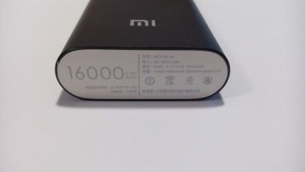 Заявленная емкость 16000 mah, фактическая - около 5500 mah  Xiaomi Power Bank . Винница, Винницкая область. фото 3