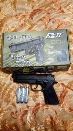 Пистолет Umarex Beretta Elit2. Очаков. фото 1