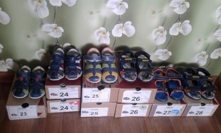 Босоножки, сандали на мальчика р. 23-28. Харьков. фото 1