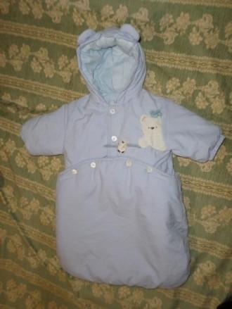 Комбинезон-мешок, трансформер, для новорожденного. Винница. фото 1