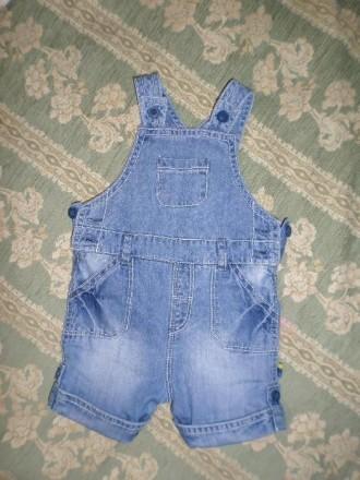 Комбинезон джинсовый Mothercare, комбенизон джинс. Винница. фото 1