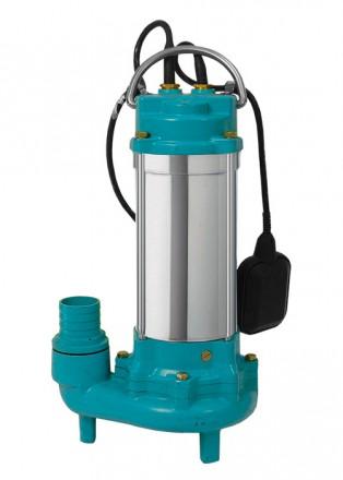 Насос канализационный Hmax12м Qmax225л/мин с ножом (нерж): 773432. Львов. фото 1