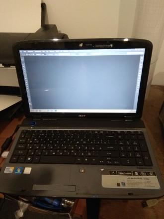 Ноутбук Acer 5738g в хорошому стані. Тягне ігрушки до 2015 року. Коломыя. фото 1