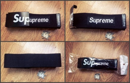 Ремень Supreme Black Stussy Adidas Originals Huf Nike Reebok. Одесса. фото 1