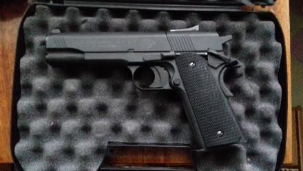 Пневматический пистолет Umarex Colt 1911 A1. Кропивницкий. фото 1
