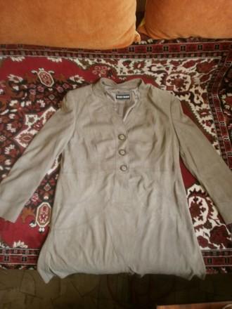 Куртка женская легкая, натуральная кожа. Черкассы. фото 1