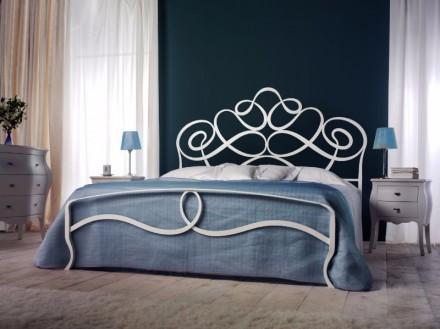 Кованые кровати. Кованая мебель. Металлические кровати. Кровать. Буча. фото 1