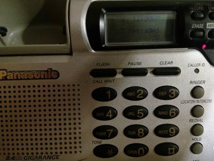 Автоответчик базовый блок радиотелефона Panasonic KX-TG2670 N. Харьков. фото 1