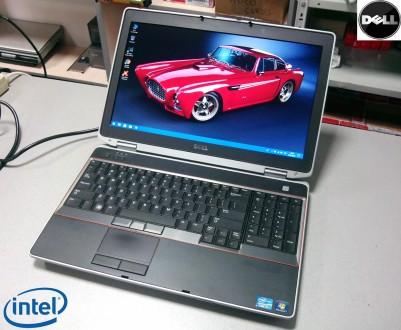 Ноутбук.Бизнес серия DELL Latitude E6520/Intel Core i7/Nvidia NVS 4200M/Гарантия. Киев. фото 1