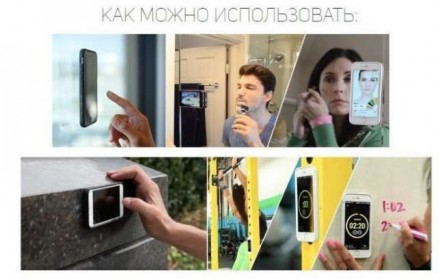 Антигравитационный чехол iPhone 6 6s 5 5s 7 7s plus черный белый. Херсон. фото 1