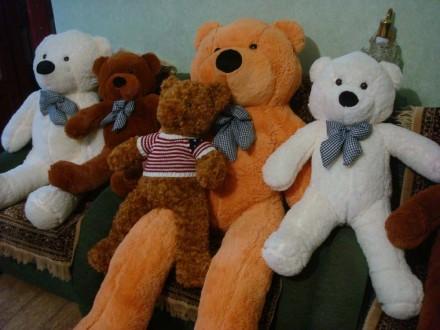 Большой плюшевый мишка, Мягкие игрушки, мишка тедди, плюшевый медведь. Херсон. фото 1