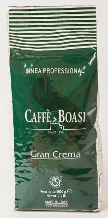 Кофе Caffe Boasi Bar Gran Crema, зерно, 60% Арабика/40% Робуста, Италия, 1 кг. Чернигов. фото 1