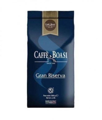 Кофе Caffe Boasi Bar Gran Riserva, зерно, 80% Арабика/20% Робуста, Италия, 1 кг. Чернигов. фото 1