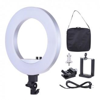 Кольцевая Светодиодная Лампа CY-R50L PRO 18 Bi-color 55 Вт 480 LED. Киев. фото 1