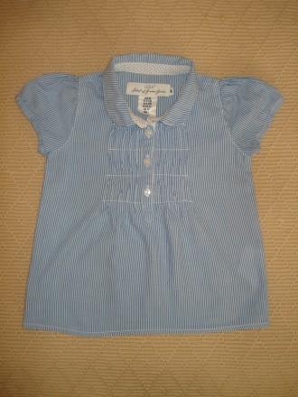 Блузка-Туника H&M на девочку 9-12 мес.. Херсон. фото 1