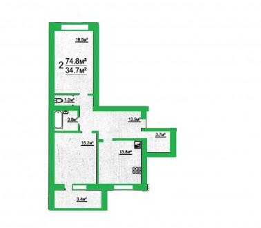 Новый современный дом по ул. Р. Люксембург (р-н Деснянской Правды)  Кирпичный . Чернигов, Черниговская область. фото 5