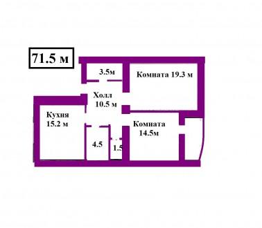 Новый современный дом по ул. Р. Люксембург (р-н Деснянской Правды)  Кирпичный . Чернигов, Черниговская область. фото 3