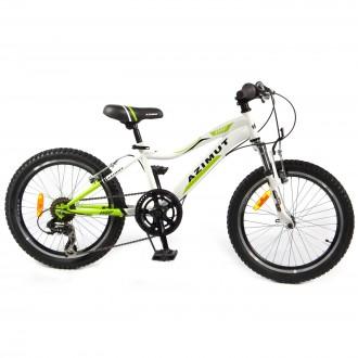 Новый горный велосипед для детей (подростков) Azimut Knight со скоростями. Одесса. фото 1