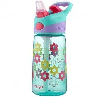Детская бутылка для воды Contigo 420 мл. Striker Ultramarine. Киев. фото 1
