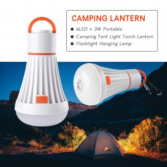 Фонарь для кемпинга, лампа в палатку, автомобиль, LED, 18650. Херсон. фото 1