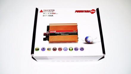 Преобразователь напряжения, инвертор 12/24v-220v , 300-4000w. Запорожье. фото 1