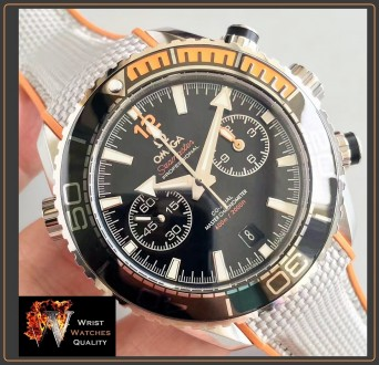 OMEGA - Seamaster Planet Ocean 600M Master Black Chronometer Stainless Steel 45,. Киев, Киевская область. фото 9