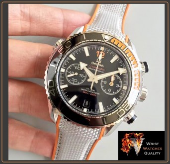 OMEGA - Seamaster Planet Ocean 600M Master Black Chronometer Stainless Steel 45,. Киев, Киевская область. фото 5