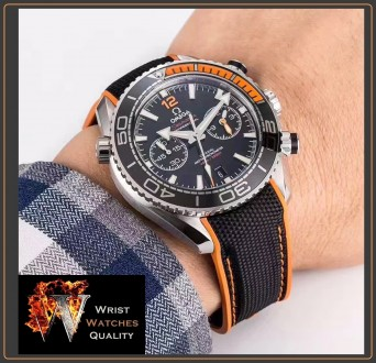 OMEGA - Seamaster Planet Ocean 600M Master Black Chronometer Stainless Steel 45,. Киев, Киевская область. фото 13
