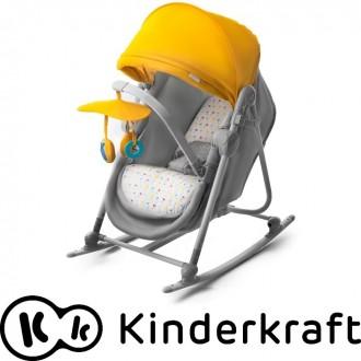 Детский шезлонг-качалка 5 в 1 Kinder Kraft