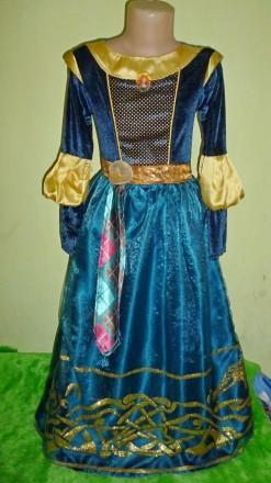платье Мериды на 9-10 лет. Кременчуг. фото 1
