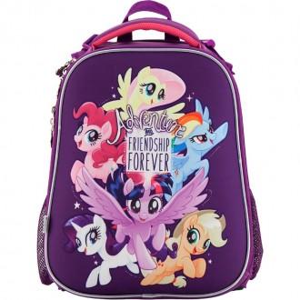 Ранец школьный каркасный KITE 2018My Little Pony 531 (LP18-531M). Днепр. фото 1