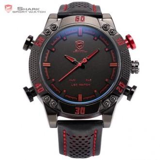 Chasmig.com.ua - интернет магазин часов и аксессуаров.   Коллекция Duo Shark -. Черкассы, Черкасская область. фото 2