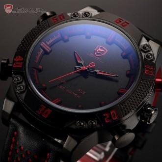 Chasmig.com.ua - интернет магазин часов и аксессуаров.   Коллекция Duo Shark -. Черкассы, Черкасская область. фото 4