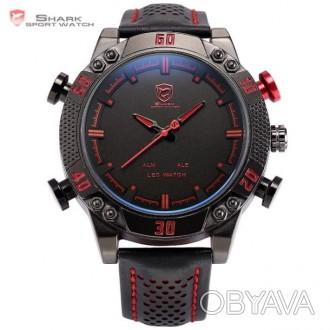 Chasmig.com.ua - интернет магазин часов и аксессуаров.   Коллекция Duo Shark -. Черкассы, Черкасская область. фото 1