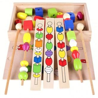 Детская логическая игра «Форма Цвет», игрушки. Киев. фото 1