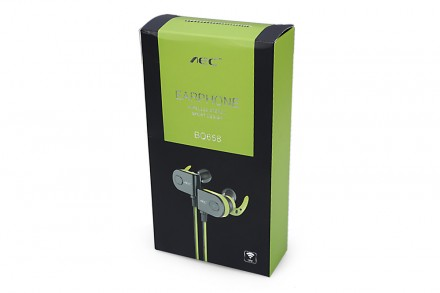 Спортивные наушники AEC BQ658 Bluetooth. Кропивницкий. фото 1